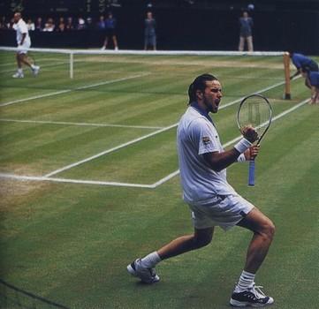 Rafter Agassi Wimbledon 2000 -2