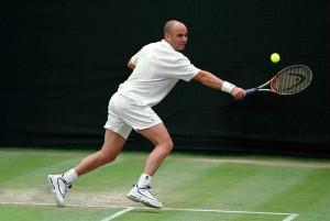 Agassi Wimbledon 2000 -2