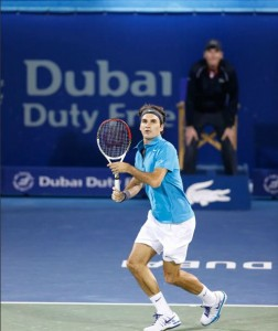 Federer Dubai 2013 -7