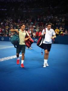 Federer Mahut Brisbane 2014 -1