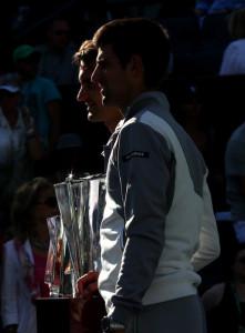 Djokovic Federer IW 2014 -1